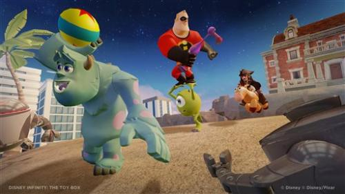 Disney prepares a toy offensive with 'Infinity'