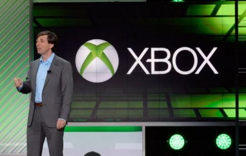 Don Mattrick, president of the Interactive Entertainment Business at Microsoft, speaks in Los Angeles, on June 10, 2013