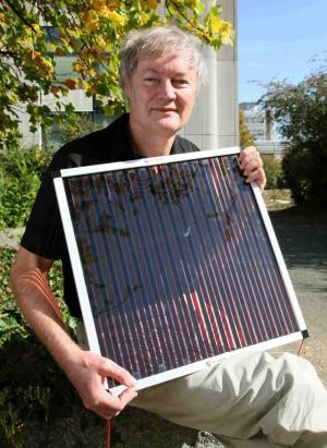 Dye-sensitized solar cells rival conventional cell efficiency