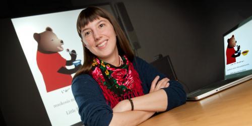 E-books show kids the colour of Cree language