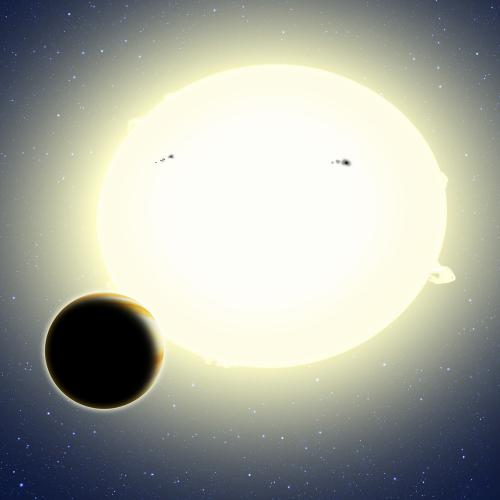 Einstein's exoplanet