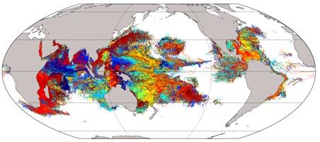 Epic ocean voyages of coral larvae revealed
