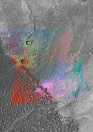 Evidence found for granite on Mars