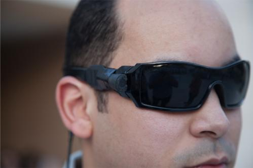 Eyeglasses read to the blind (w/ Video)