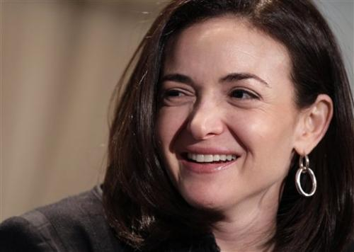 Facebook exec's new book urges women to 'lean in'