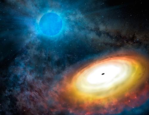 Fast, furious, refined: Smaller black holes can eat plenty