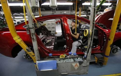 Fast plant is boost for Japan auto also-ran Mazda