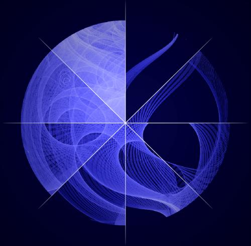 Fermi's motion produces a study in spirograph