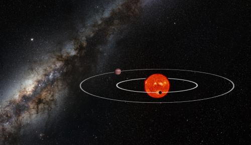 First detection of a predicted unseen exoplanet