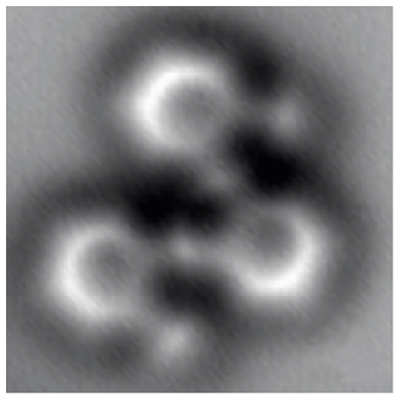First-ever high-resolution images of a molecule as it breaks and reforms chemical bonds