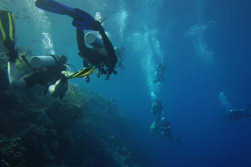First ever underwater university lectures