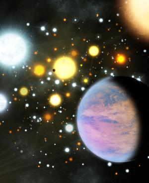 First transiting planets in a star cluster discovered