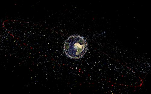 Focus on growing threat of space debris