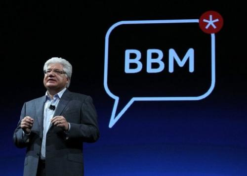 Former co-CEO Mike Lazaridis on October 18, 2011 in San Francisco, California