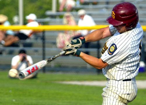 For young baseball players, light bats don't hit too fast