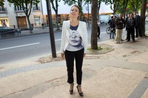 French Minister for Culture and Communication Aurelie Filippetti in Paris on June 3, 2013