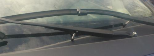 Frustration sparks invention to keep wipers from freezing to windshield