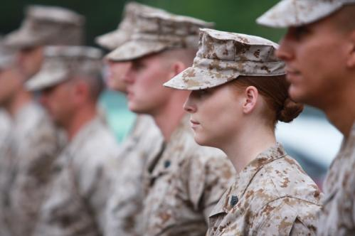 Gender equality in the military