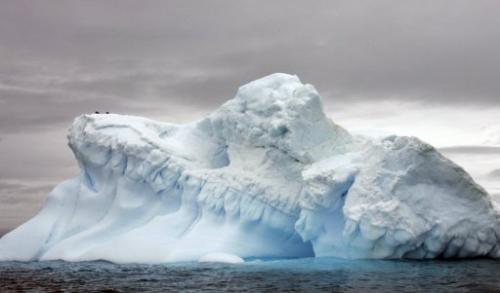 Glaciers in Antartica, 9 November, 2007.