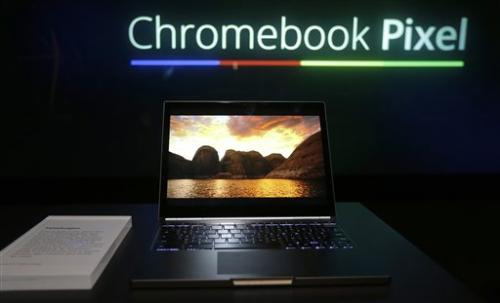 Google adds new touch to line of  Chrome laptops