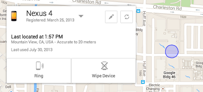 Google's ADM phone finder coming this month