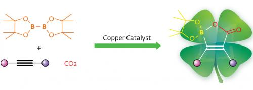 'Green chemistry' using carbon dioxide, low-cost catalysts: New way of producing potent carbon–boron synthetic reagents