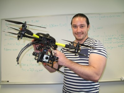 Harnessing robot research a searching task