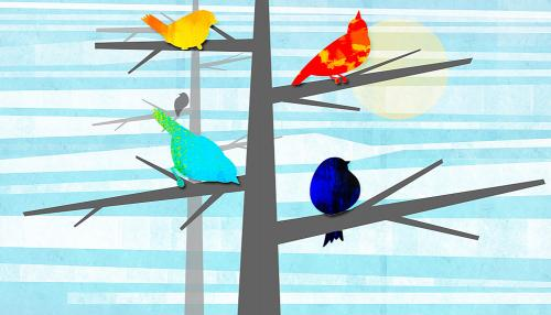 How human language could have evolved from birdsong