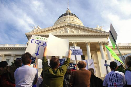 How the gay marriage movement has evolved