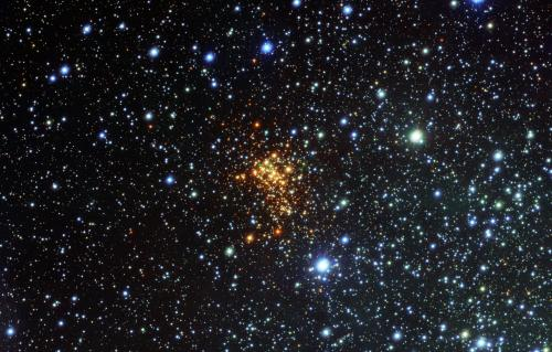 How the largest star known is tearing itself apart