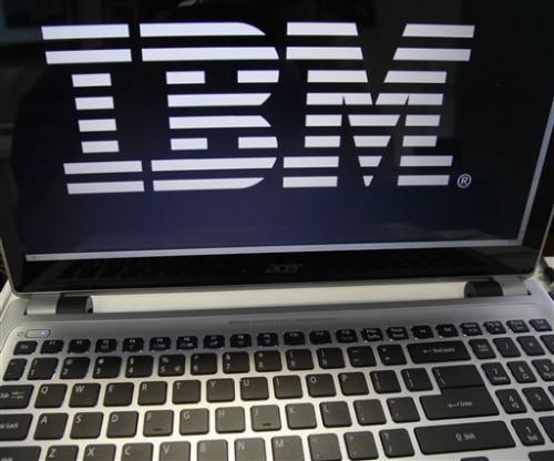 IBM 3Q revenue short of expectations, stock down
