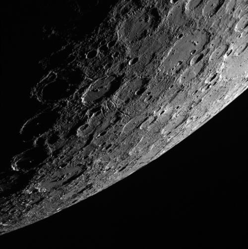 Image: Sunlit side of the planet Mercury