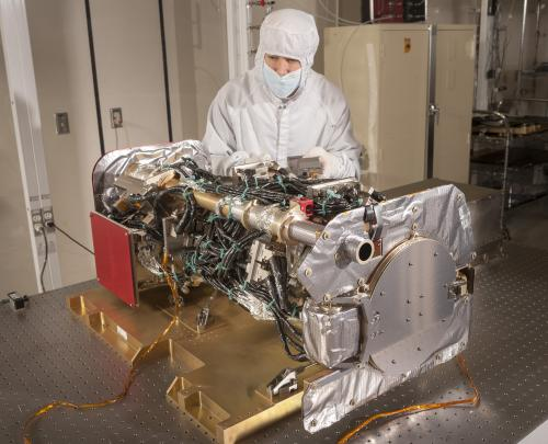 Important space weather instrument cleared for installation onto GOES-R spacecraft