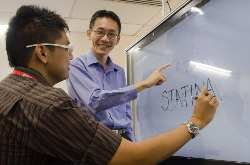 Invention transforms plain surfaces into low-cost touch screens