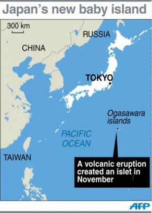Japan's new baby island