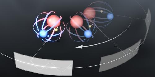 JILA team develops 'spinning trap' to measure electron roundness
