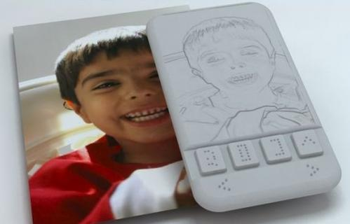 Kriyate Design Solutions testing first Braille smartphone
