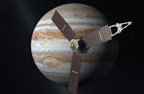 Juno slingshots past Earth on its way to Jupiter