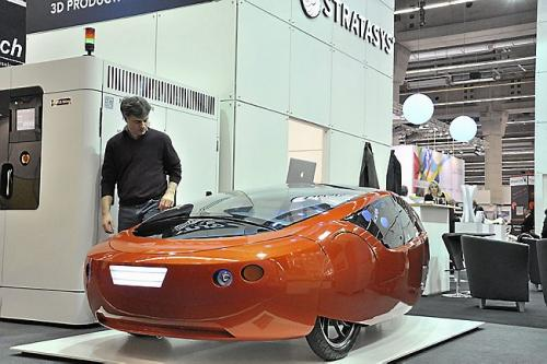 Kor Ecologic Urbee 2 car will move from 3-D printer to road