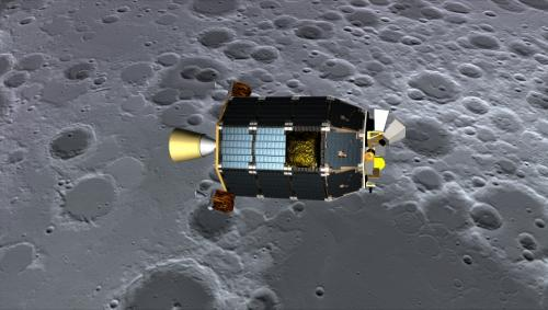LADEE Project Scientist Update: Intial Observations of Chang'e 3 Landing