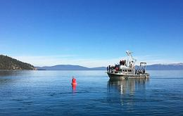Lake Tahoe water clarity the best in 10 years