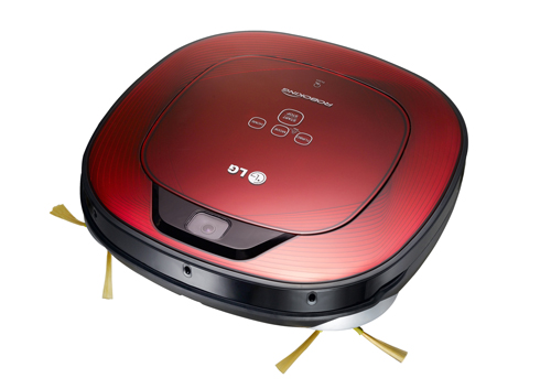 LG's square-shaped robotic vacuums to entertain at CES 2013