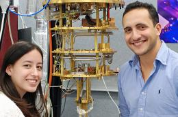 Listening to electrons: New method brings scaling-up quantum devices one step closer