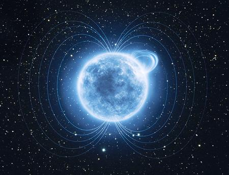 Magnetic star reveals its hidden power