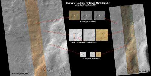 Mars orbiter images may show 1971 Soviet lander