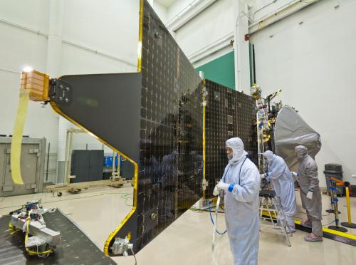 MAVEN mission completes assembly, begins environmental testing