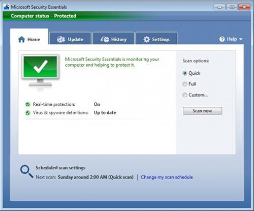 Microsoft Security Essentials misses AV-Test Certified status