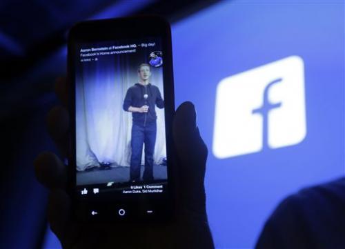 Mobile ads help grow Facebook's 1Q revenue 38 pct.