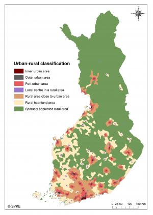 More accurate information available about urban and rural areas