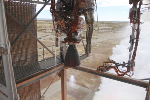NASA Commercial Crew Partner Blue Origin Test-Fires New Rocket Engine